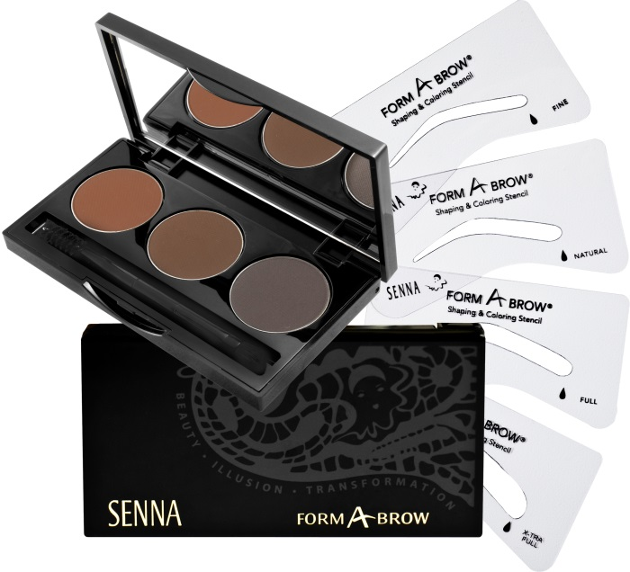 SENNA Form-A-Brow Kit Kit Набор для бровей Dark