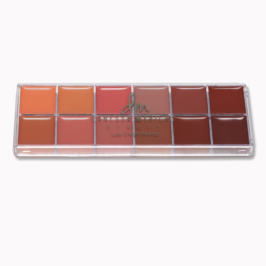Danessa Myricks Cream Color Luxe Lip Palette - Nudist (D01595)