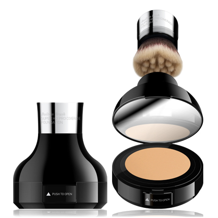 CAILYN Built in Brush Super HD Pro Coverage Foundation Тональная основа с супер HD покрытием 01 Cascade