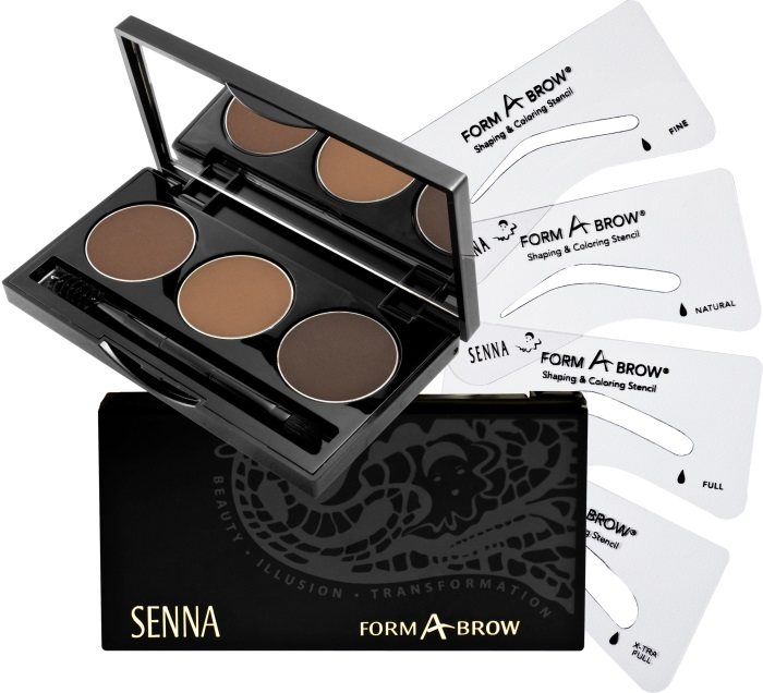 SENNA Form-A-Brow Kit Kit Набор для бровей Neutral