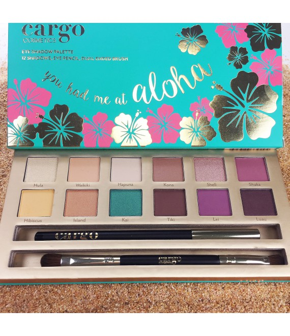 Cargo Limited Edition You Had Me at Aloha Eye Shadow Palette Палетка теней