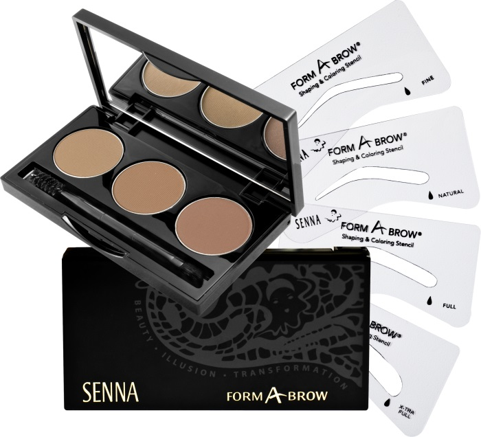 SENNA Form-A-Brow Kit Kit Набор для бровей Ash Blonde
